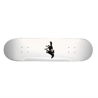 Horse Racing Custom Skate Board