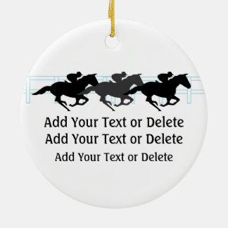 Horse Racing - SRF Christmas Ornament