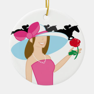 Horse Racing - SRF Christmas Ornament