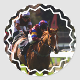 Horse Racing Stickers