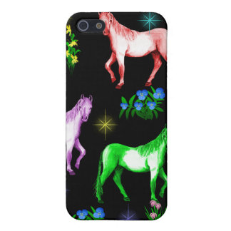 Horse Rainbow iPhone 5 Cases