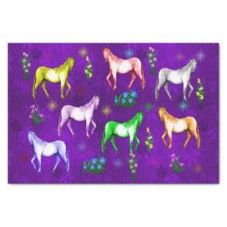 Horse Rainbow Tissue Paper