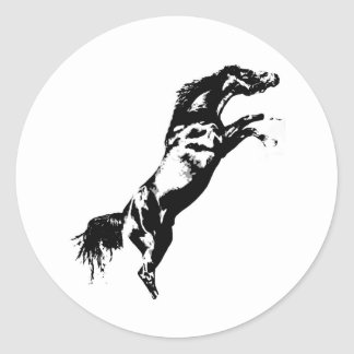 Horse Rearing Sticker