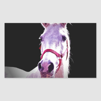 Horse Rectangular Sticker