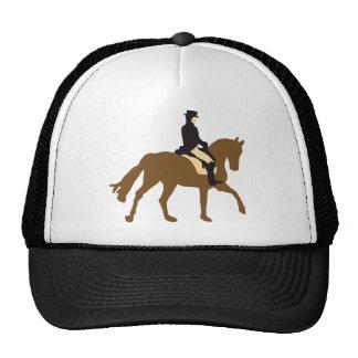 Horse riding dressage mesh hats