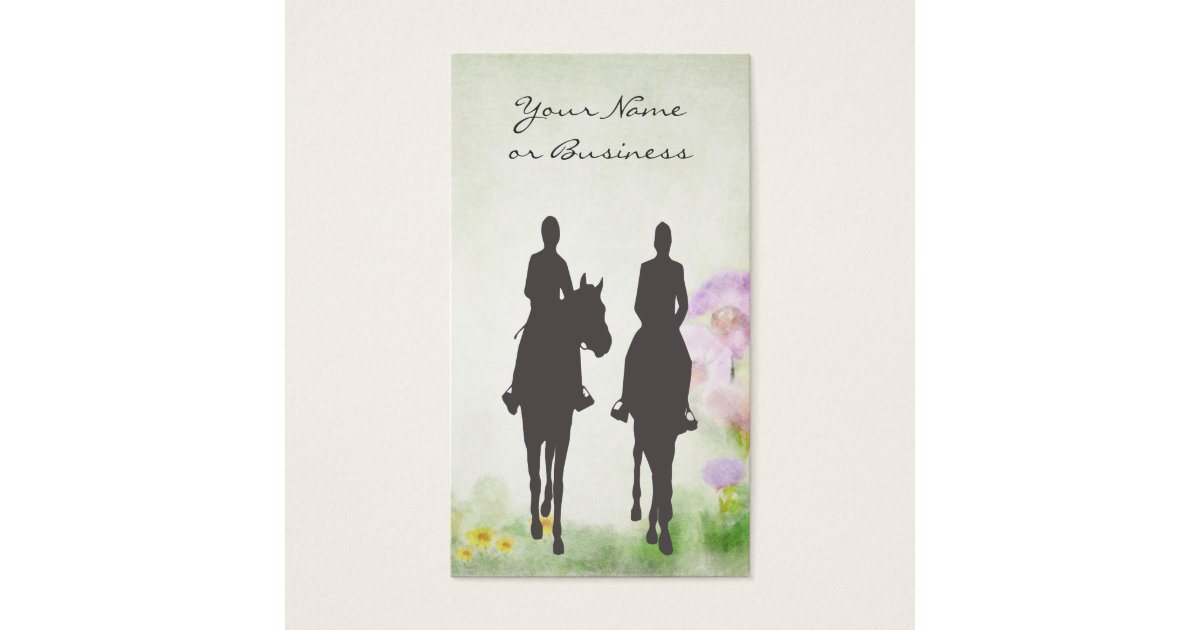 Cute Equestrian Business Cards Pictures Inspiration - Business Card ...