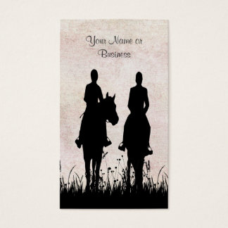 Horse riding lessons business cards business card printing horse riding stable equestrian business cards yadclub Choice Image