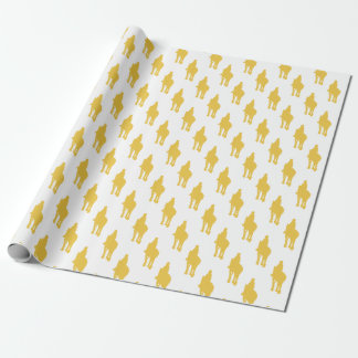 Horse Riding Wrapping Paper