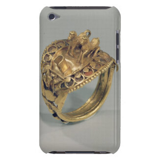 Horse ring (gold and cornelian) iPod touch cover