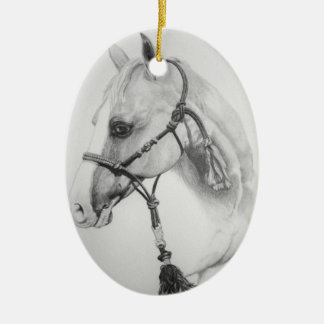 horse, rodeo christmas ornament