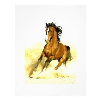 Horse Running 21.5 Cm X 28 Cm Flyer