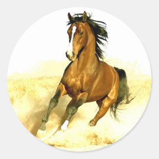 Horse Running Sticker