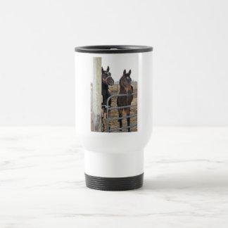 Horse Sense Horses 15 Oz Stainless Steel Travel Mug