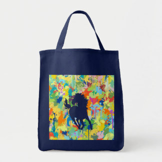 Horse Shape Colorful Splash
