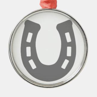 Horse shoe. christmas ornament