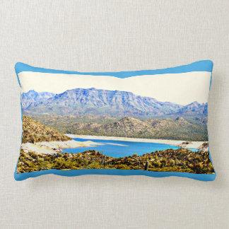 Horse Shoe Lake Lumbar Pillow