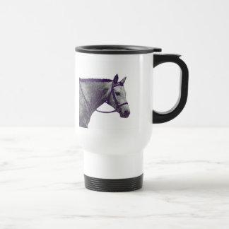 Horse Show Dad Travel Mug - English