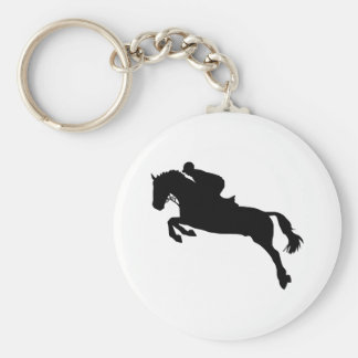 Horse show jumping keychains