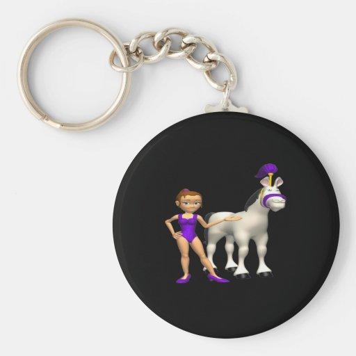Horse Show Keychains