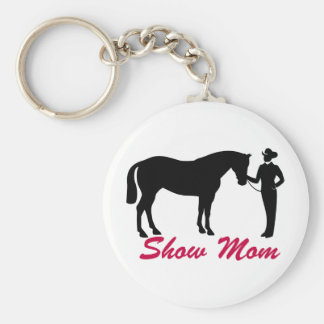 Horse Show Mom Keychain