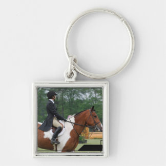 Horse Show Ring Keychain