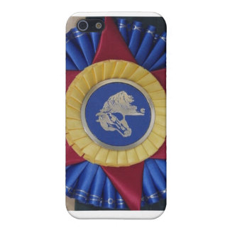 Horse Show Rosette -- Tricolor 4G iPhone 5/5S Cover