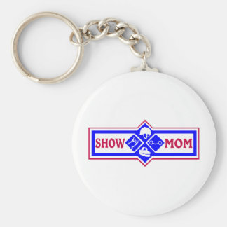 Horse Show Tack Mom Key Chain