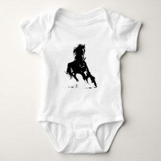 Horse Silhouette Baby Bodysuit