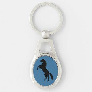 Horse Silhouette Keychain
