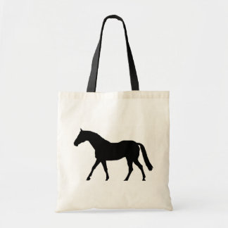 Horse Silhouette Tote Bag