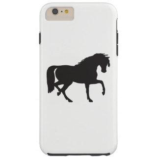 Horse Silhouette Tough iPhone 6 Plus Case