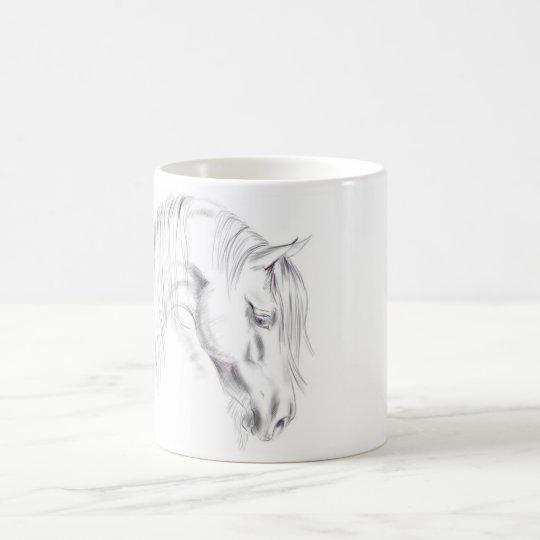 Horse Sketch Coffee Mug