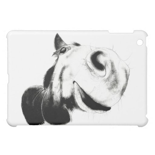 Horse Sketch iPad Mini Cases
