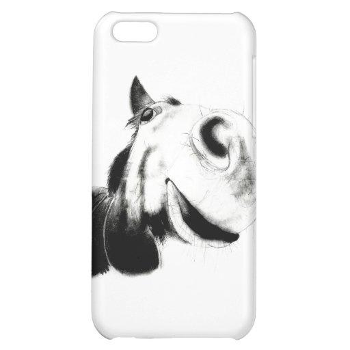Horse Sketch iPhone 5C Case