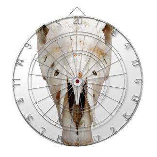 horse skull dartboard