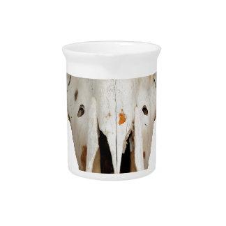 horse skull pitcher