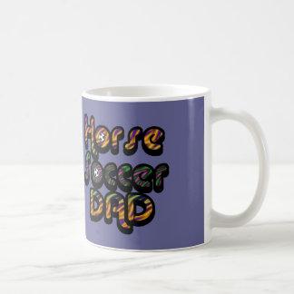 Horse Soccer Dad Mug