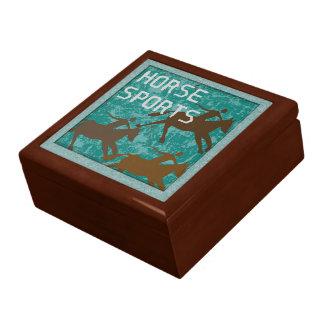 HORSE SPORTS Keepsake Box
