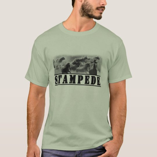 Horse Stampede Graphic T-Shirt