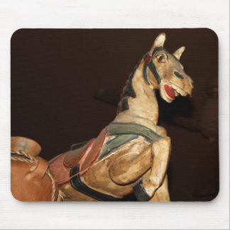 Horse Statue and Decor at Mexican Restaurant Photo Mouse Mat