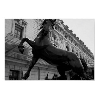 Horse Statue Posters