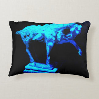 Horse Statuette Decorative Cushion