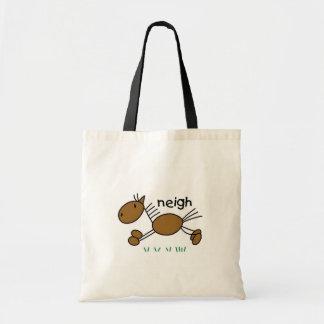 Horse Stick Figure Bag