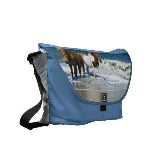 Horse Swim Design Messenger Bag