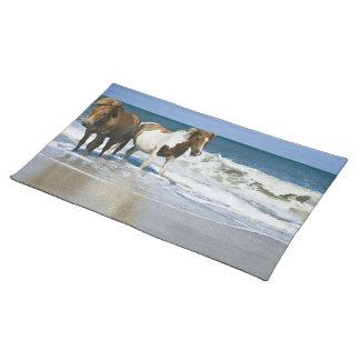 Horse Swim Design Placemat