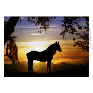 Horse Sympathy Card