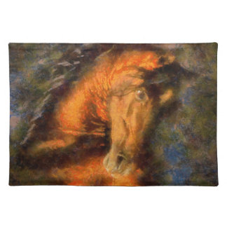 Horse the King Placemat