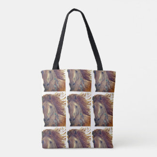 Horse Tote Bag, Indian Horse Bag, Southwestern Bag