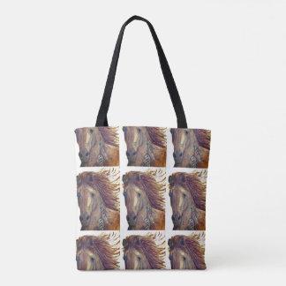 Horse Tote Bag, Indian Horse Bag, Southwestern Bag