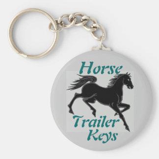 Horse Trailer Keys Key Ring
